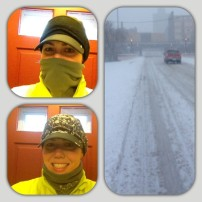 Blizzard Run: Before, During, and After!