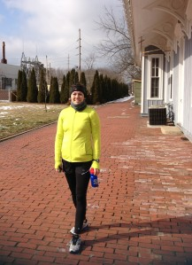 Still smiling at the end of my first 20 mile run!